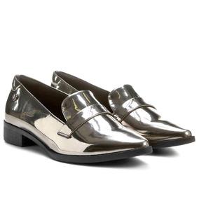 23c1f80d2 Oxford Prata Oxfords - Sapatos para Feminino no Mercado Livre Brasil