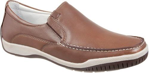 mocassim sapatilha conforto forrado couro legítimo 6000 fb