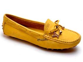 73db0f2aa8 Mocassim Feminino Dourado Moleca - Sapatos no Mercado Livre Brasil