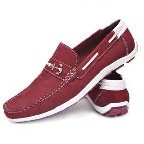 0d6d97378c Redutor De Velocidade Vds Masculino Mocassins - Sapatos Bordô no ...