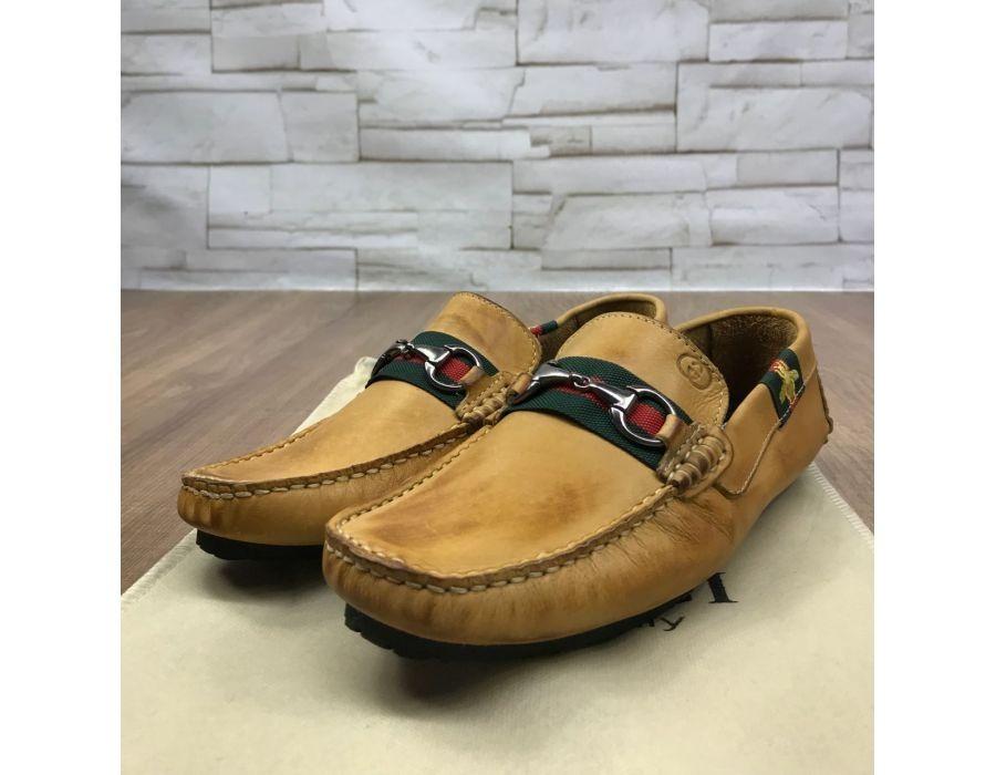 16052777f mocassim sapato masculino gucci couro a pronta entrega. Carregando zoom.