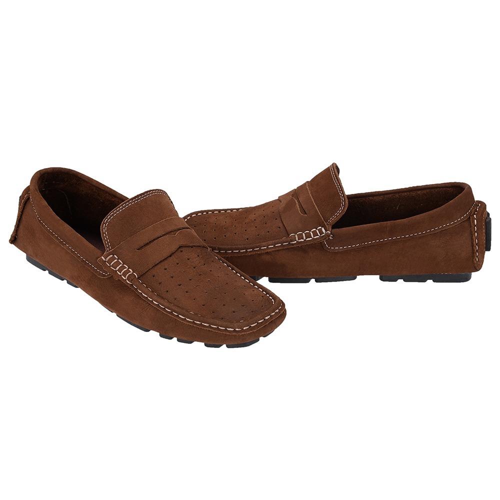 1abbf99ef mocassim sapato masculino selten marrom couro legitimo 7600. Carregando  zoom.