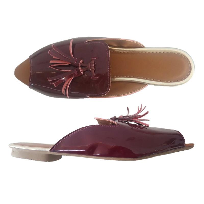 fc1d61091b mocassim sapato sapatilha mule aberta feminino bico fino v02. Carregando  zoom.