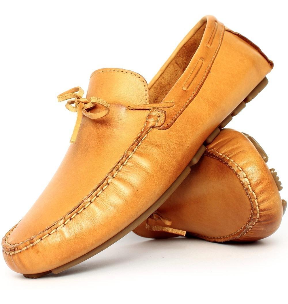 c12df649e9 mocassim sider sapatilha masculino em couro palmilha gel. Carregando zoom.