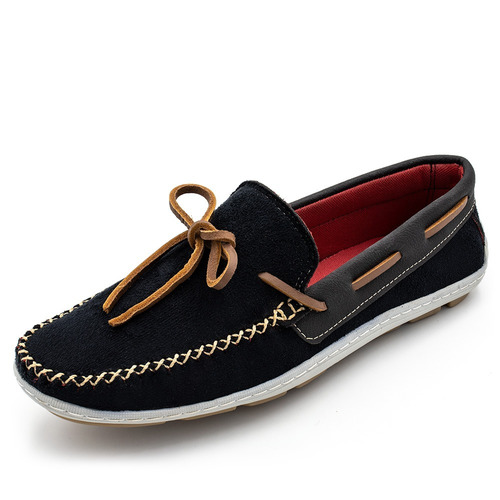 mocassim tradicional sapatilha masculino conforto total