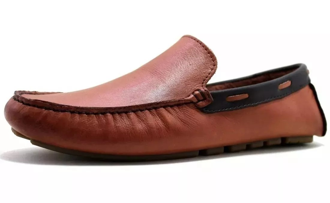 2279d96382 mocassim tradicional sapatilha masculino couro legitimo. Carregando zoom.