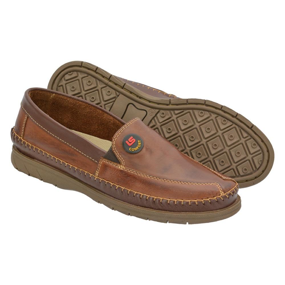 e99afa1f0f mocassim tradicional sapatilha masculino couro promoção. Carregando zoom.