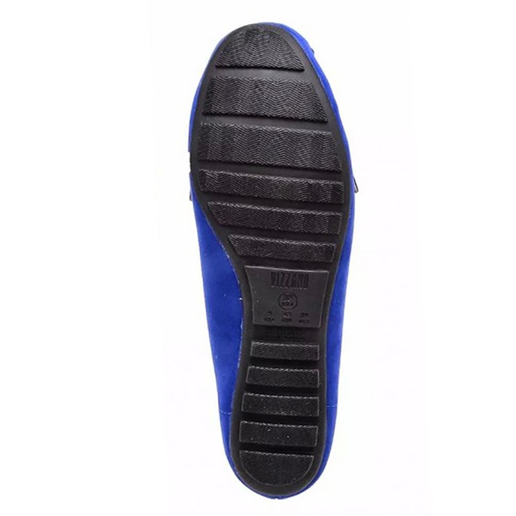 7311d97526 mocassim vizzano nobuck nice glam feminino - azul. Carregando zoom.