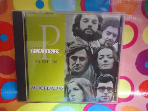 mocedades cd 20 exitos serie platino, 1995, usa r