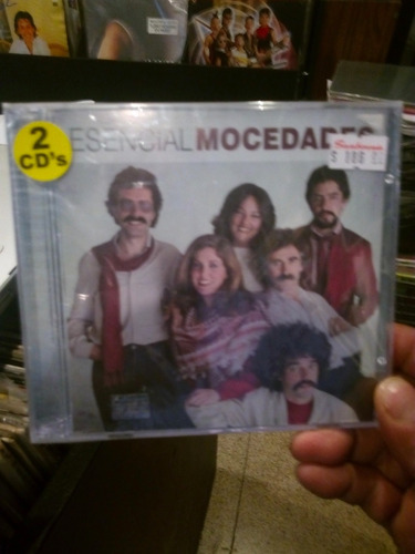 mocedades esencial mocedades 2 cds nuevo