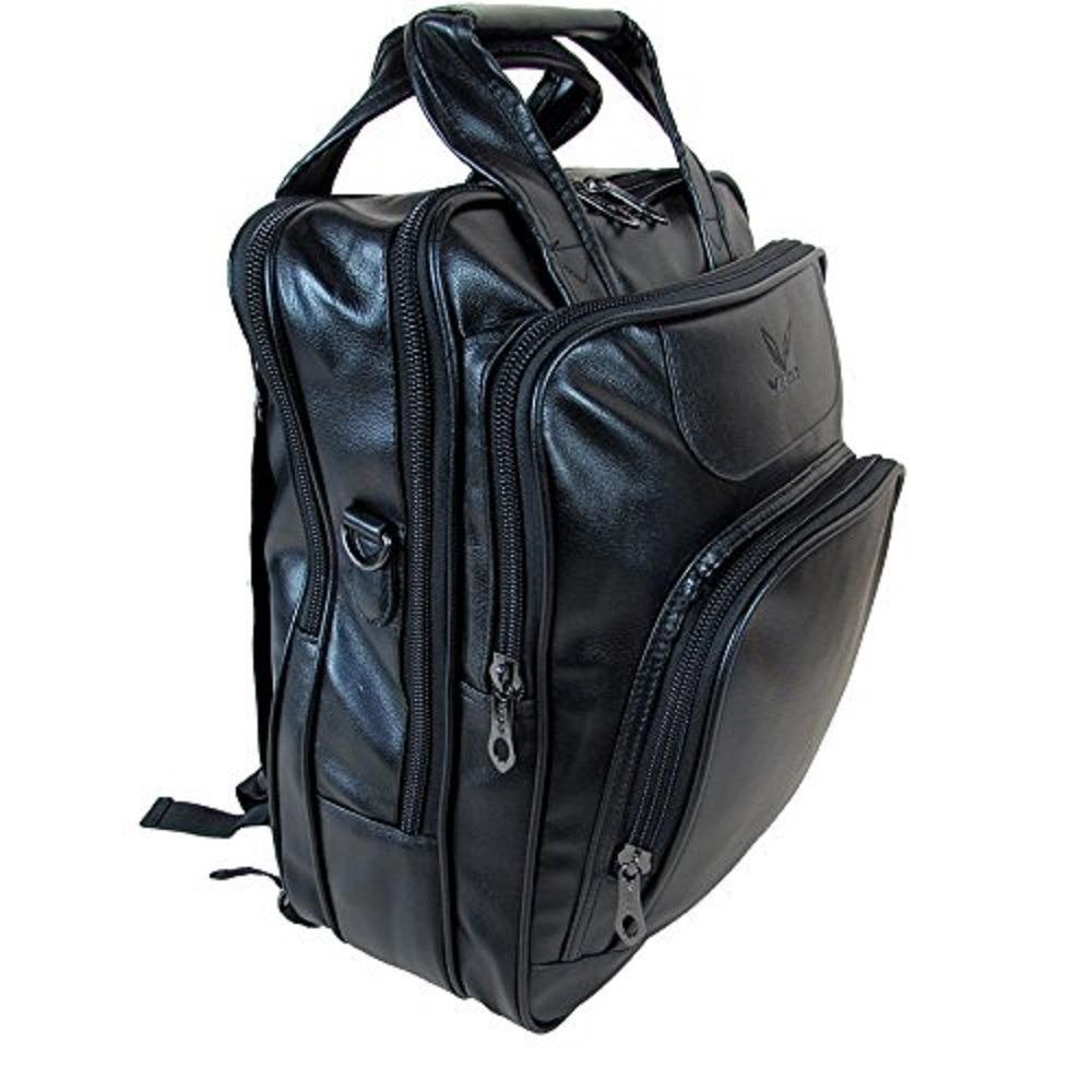 98d32ebec1 mochila 2 em 1 bolsa costas g couro notebook 15.6. Carregando zoom.
