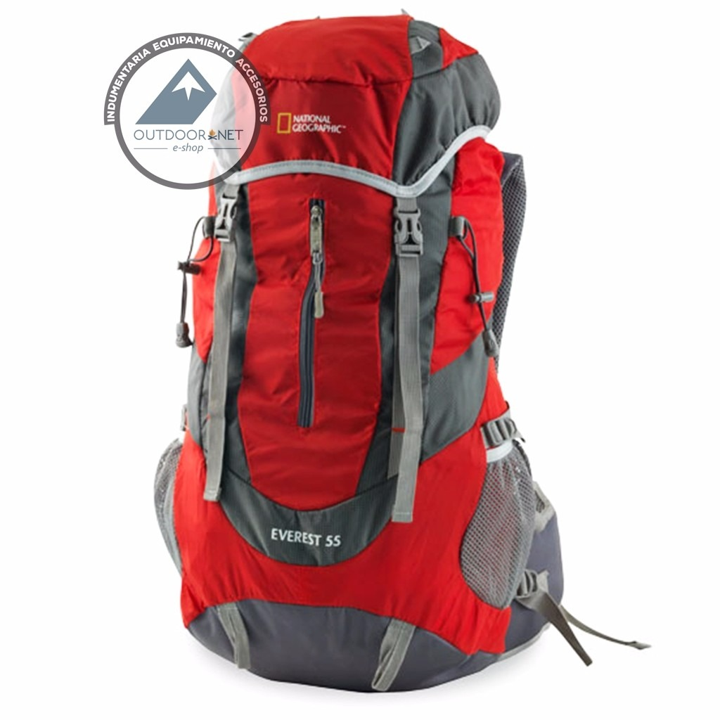 Mochila 55 Litros Modelo Everest National Geographic