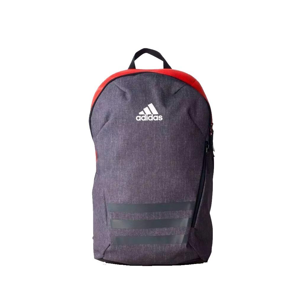 6363c9c41 Mochila adidas Ace 17.2 Cinza/vermelho + Nf - R$ 229,90 em Mercado Livre