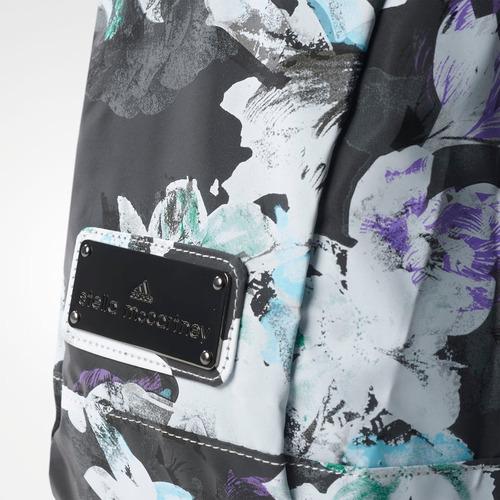mochila adidas by stella mccartney floral original feminina