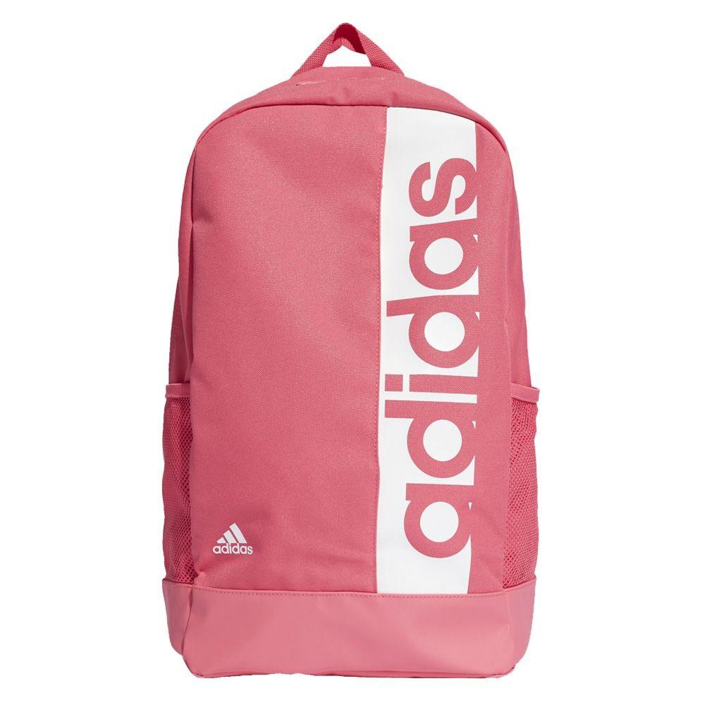 Mochila Linear Pink Branco Dm7660 Feminin Adidas Academia fg76yYb