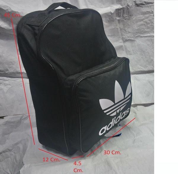 última selección brillante n color cómo hacer pedidos Mochila adidas Originals Classic Trefoil Backpack. Black - S/ 135 ...