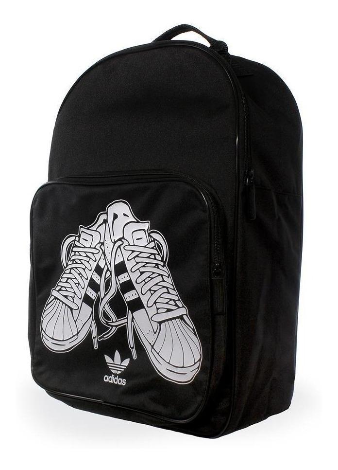 Desesperado Aguanieve Embrión  Bolsos y mochilas Adidas Originals Classic Superestrella Negro Mochila  Negro/Blanco S20110 civilnodrustvo.ba