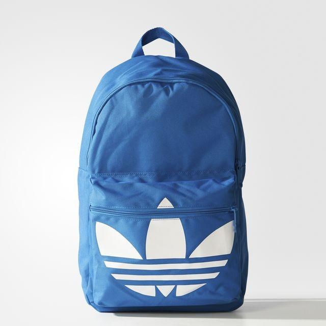 mochila adidas azul