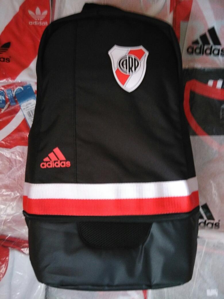 Mochila Adidas 2017 Negra 100Original Plate River shCQdtr