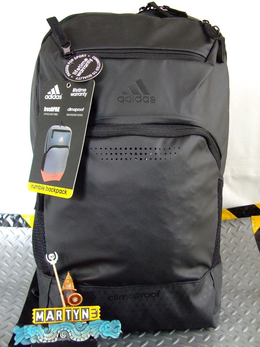 buy popular d6a0d 15a68 mochila adidas rumble backpack portalap original. Cargando zoom.