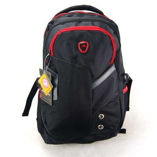 mochila adventeam vermelho e preto ref mj48294ad luxcel