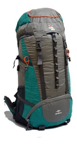 mochila alpine mochilero 80 litros reforzada varillas