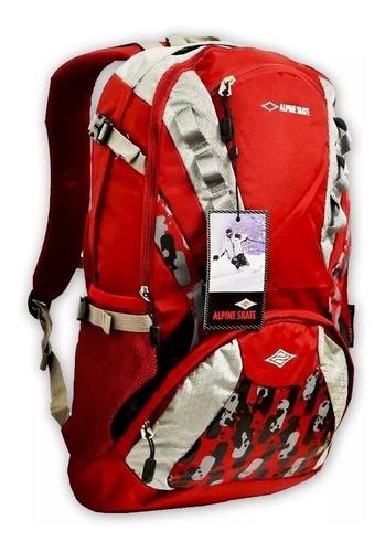mochila alpine skate mochilero urbana 32 litros camping