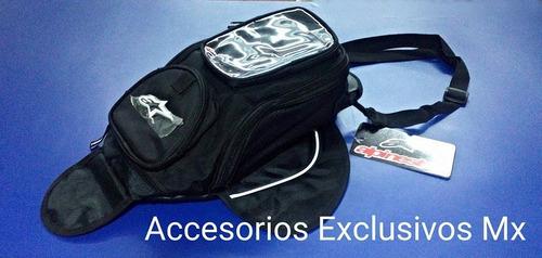 mochila alpinestar tanque bolsa deportiva maleta motocicleta