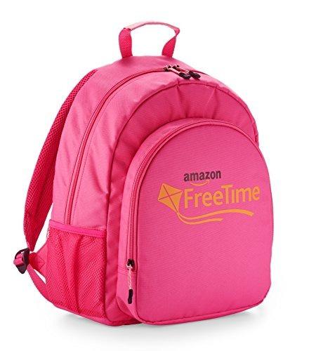 mochila amazon freetime para niños rosa