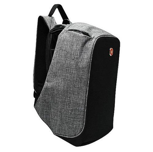 mochila anti furto para notebook impermeável com usb unissex