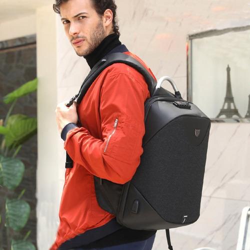 mochila anti furto roubo laptop usb pronta entrega