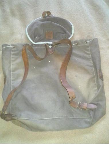 mochila antigua de boy scout  marca fogon