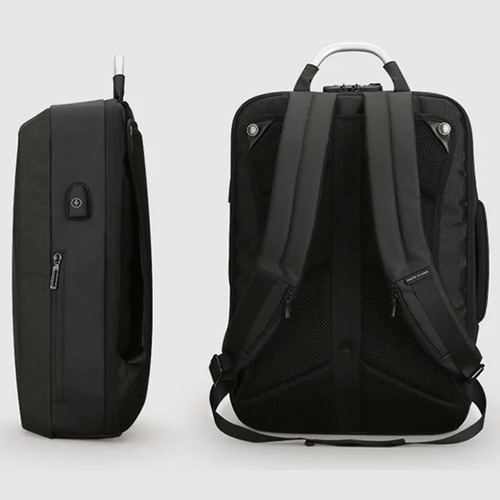 mochila antirobo backpack portafolio combinacion mark ryden