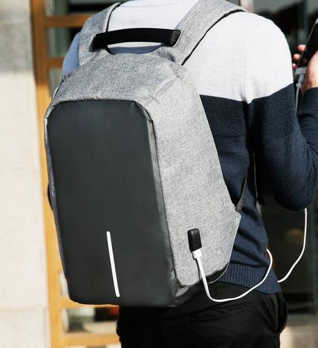 mochila antirrobo + equipo de carga + envío sin costo *video