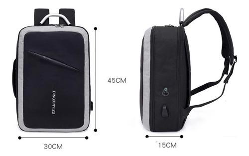mochila antirrobo impermeable / maletin ejecutivo maleta