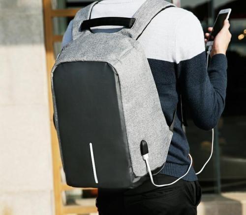 Mochila Antirrobo Impermeable Para Laptop Puertos Usb Origin ... fa16f40af0e8