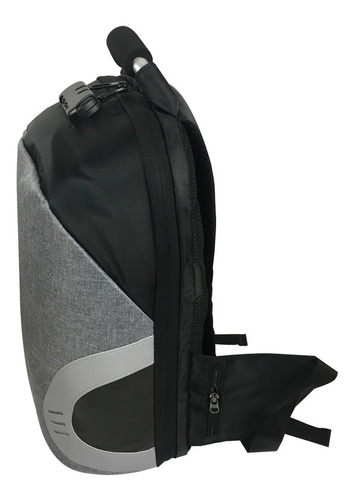 mochila antirrobo impermeable usb para power bank