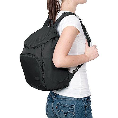 mochila antirrobo pacsafe citysafe cs350, negro