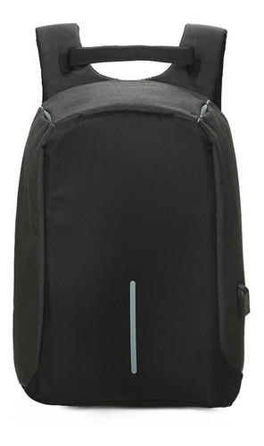 mochila antirrobo porta notebook usb impermeable