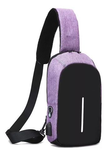 mochila antirrobo smart carga celular tablet usb