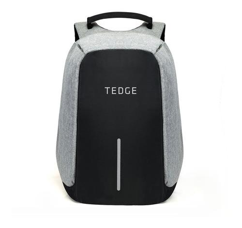 """mochila antirrobo - tedge - para notebook 15.6"""" con puerto usb 35 lts"""