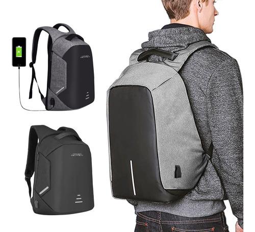 mochila antirrobo viaje bolsas gps tracker impermeable /e