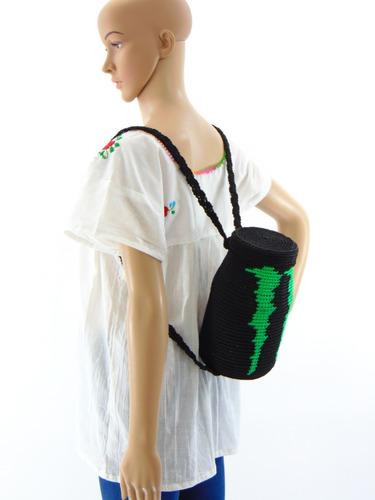 mochila artesanal tejidos