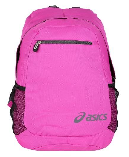 b8f218a30 Mochila Asics Daily Backpack - Rosa E Preto - R$ 120,00 em Mercado Livre