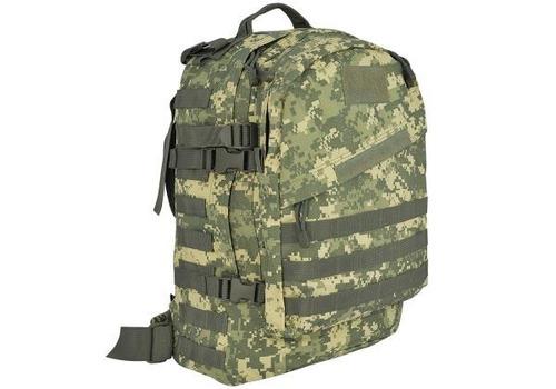 mochila assalt tático army ak-40 litros cinza modular molle