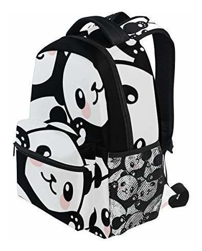 mochila attx panda para niñas para mochilas escolares