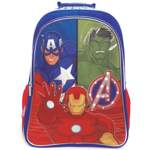 mochila avengers con luz 18'' (7442)
