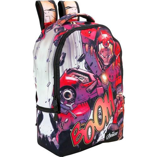 mochila avengers homem de ferro xeryus- 8070
