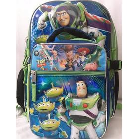 Mochila Azul Buzz Lightyear Disney + Envio Gratis