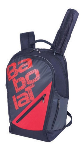 mochila babolatexpand team line negro rojo